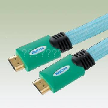 High quality HDMI cable with green color