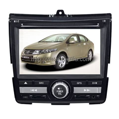 All-in-one Special Car DVD Player For Honda New City