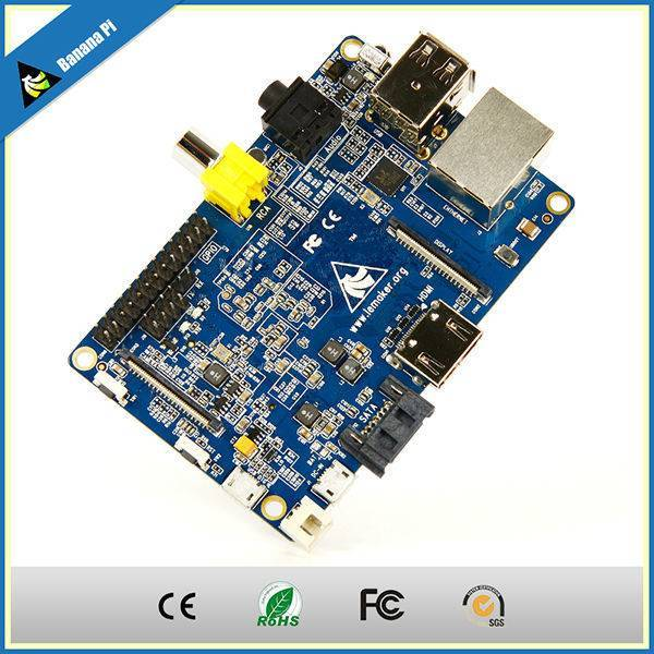 New style1GB Banana PI stronger and stable than Raspberry PI Model B compatible with cubieboard