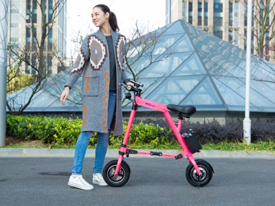 2017 new electric folding bicycle