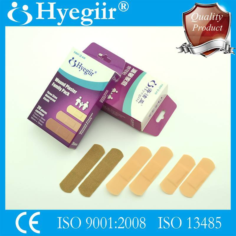 boxed family pack of wound plaster&adhesive bandage