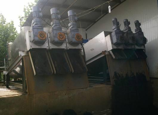 volute dewatering machine