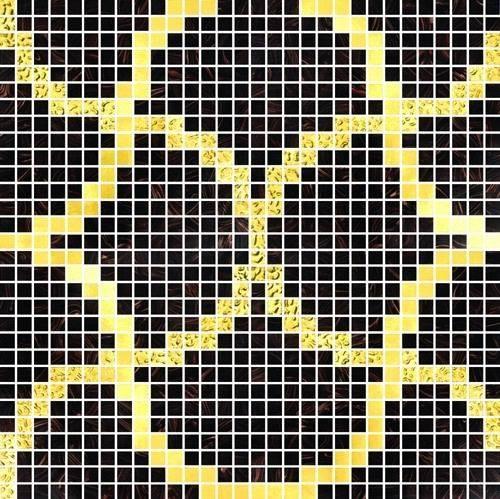 Elegant Glass Mosaic Tiles--F011