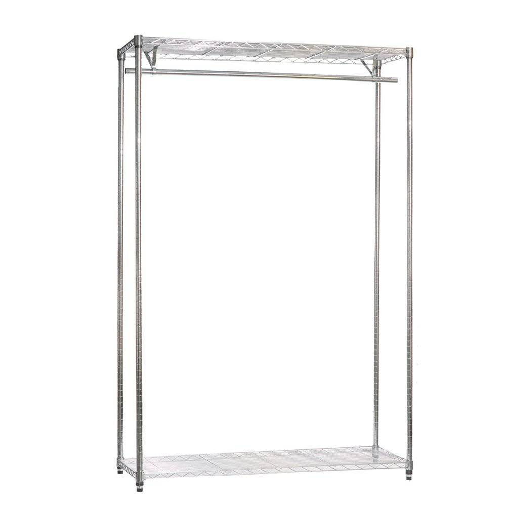 Selling Tent metal clothes rack shelves