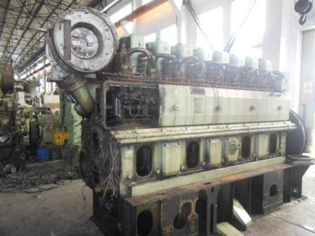 sulzer 8AL25D diesel engine for sale