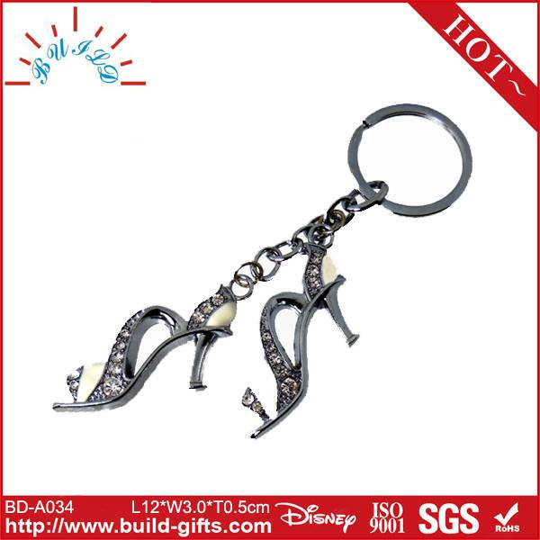piston key chain shoes shaped key chain