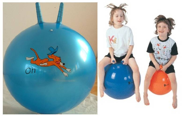 Kid's Jumping ball with cartoon printing 18
