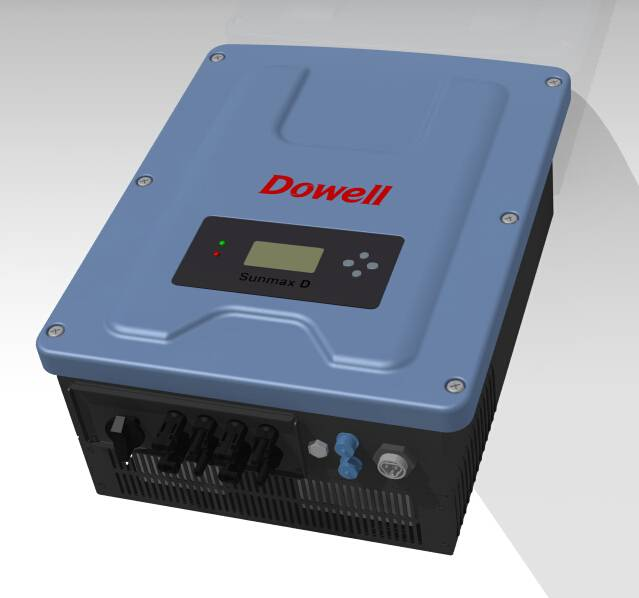 Inverter with dual MPPT