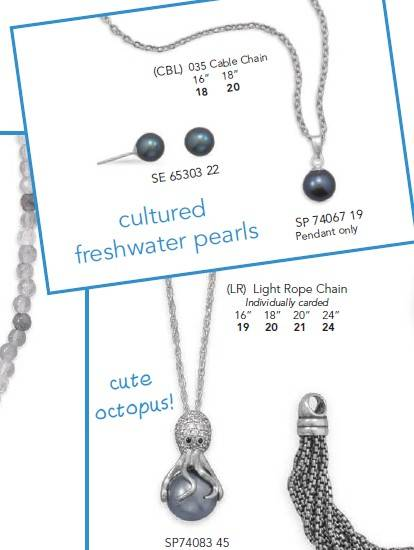 Freshwater Pearl Jewelry ,Sea Animal Jewelry ,925 Silver Jewelry ,Earring Post ,Pendant ,Necklace