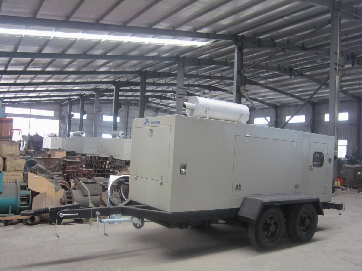 Hyundai Diesel Generator Set with Trailer
