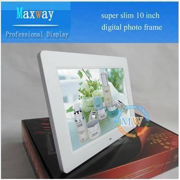 Hot slim 7 8 10 12 15 lcd digital frame