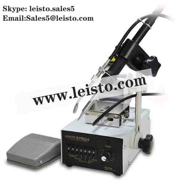 375B+ Self Feeder Soldering Station With Foot Pedal 375B+ Auto Feed Soldering Station