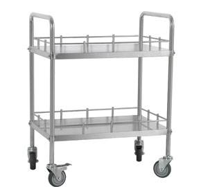Medical treatment trolley on wheels RCS-SH21