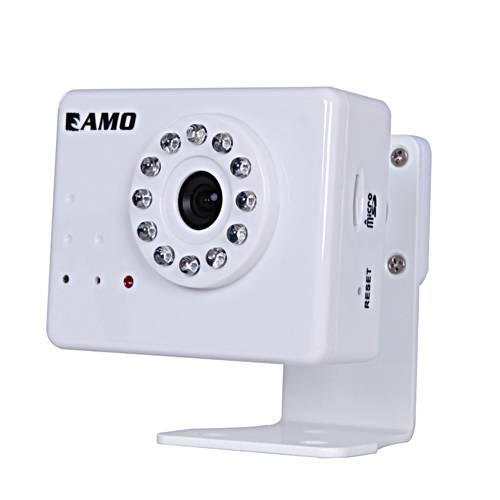 Indoor mini cube IP camera