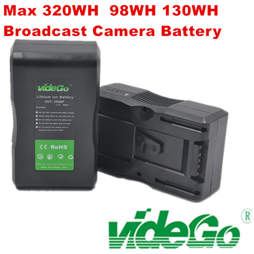 videGo 320wh 290wh 230wh V-mount Battery /Gold Mount Battery /Sony Battery /Panasonic Battery