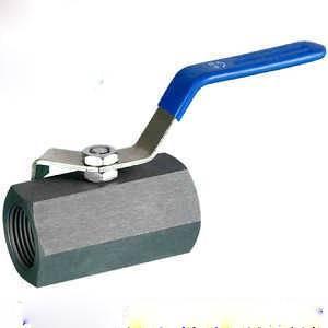 1 piece carbon steel ball valve
