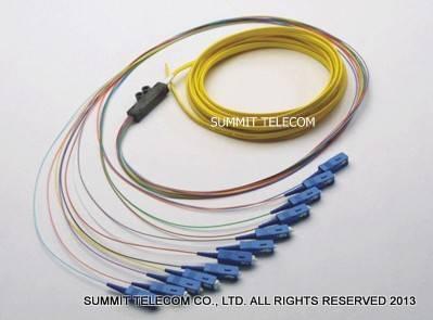 Fiber Optic Ribbon Fanout Pigtails, Optical Fiber Ribbon Pigtails