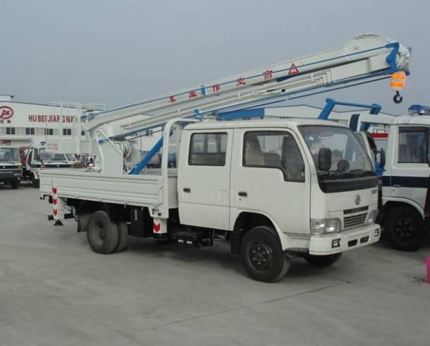 16m Overhead Platform Working Truck