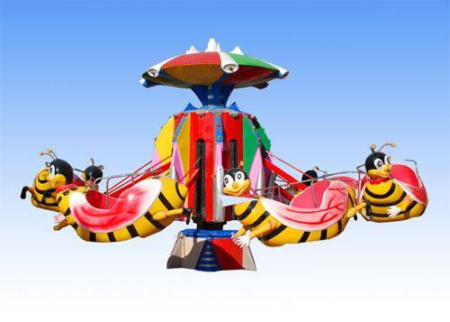 amusement rides exporter for rotating bee for sale