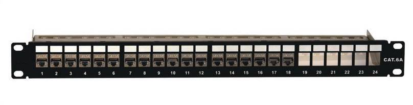 Cat6A Shielded Patch Panel