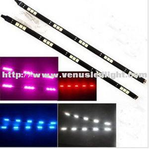 5050 SMD 15 LED 30cm Day Running Strip Car Light Waterproof 12V