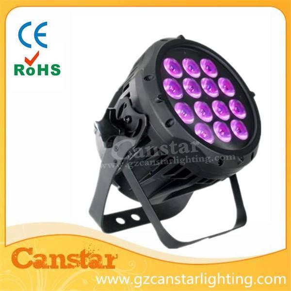 Outdoor IP65 Waterproof 14x10W 4 IN 1 LED Mini PAR 64 Can Light