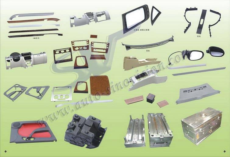 auto plastic injection mould, plastic mould, tooling auto parts mould, molded parts