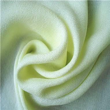 Moss crepe rayon fabric, made of 100% rayon