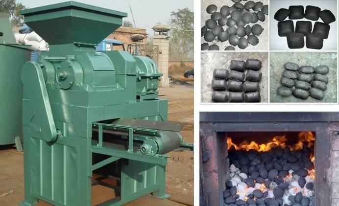 Charcoal briquette machine/Professional coal powder ball pressure machine/high efficiency coalpowder