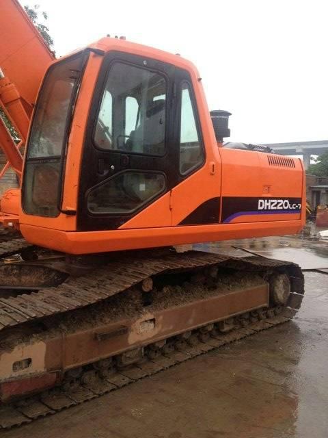 Used excavator Doosan 220-7