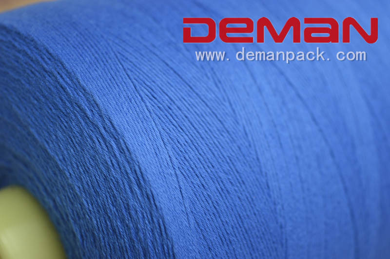 polyester bag sewing closing thread 20/6 manufacturer