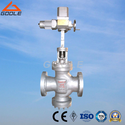 Y945H Electric double valve seat steam pressure reducing valve