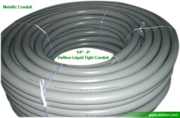 6 steel Liquid tight conduit and LT metal conduit fittings for power plant wiring,metal LIQUIDTIGHT