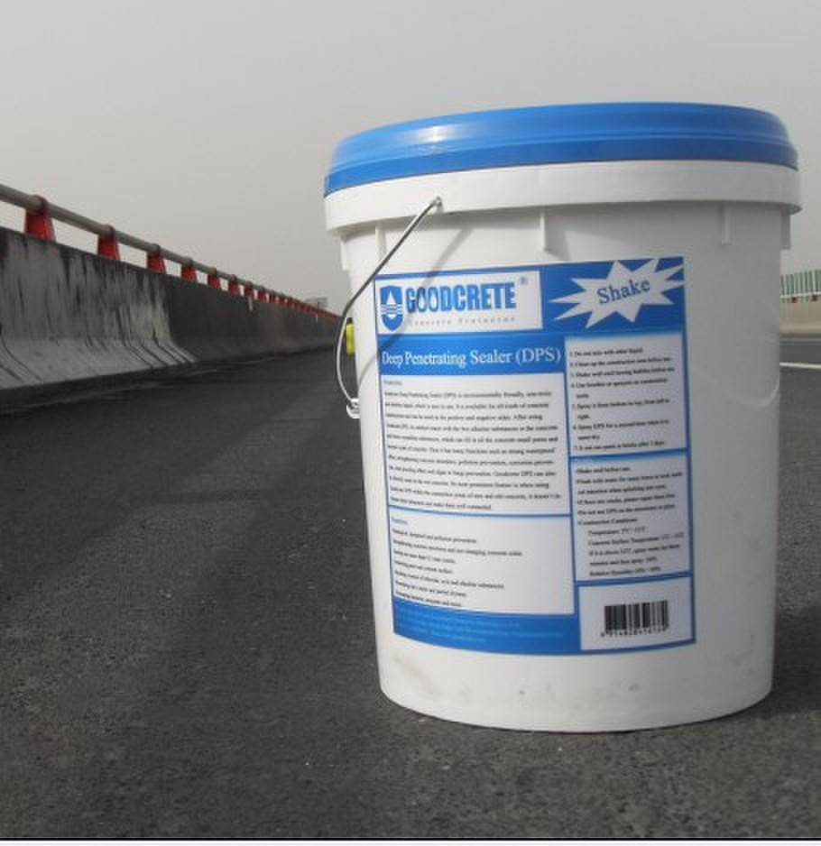Protects concrete against the sun's UV rays