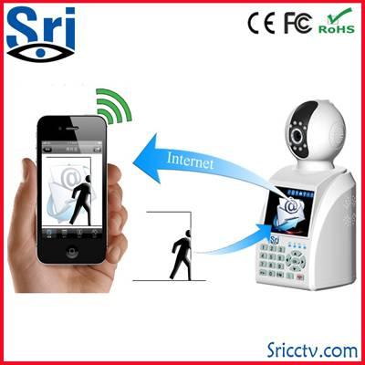SD U disk record plug and play free video call network phone camera wifi infrared ip web kamera