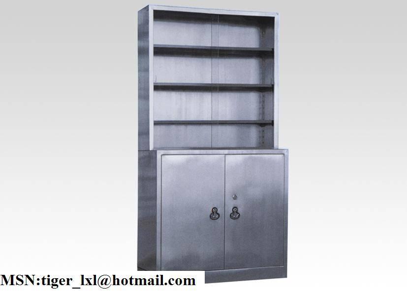 C-4 stainless steel medicine cabinet