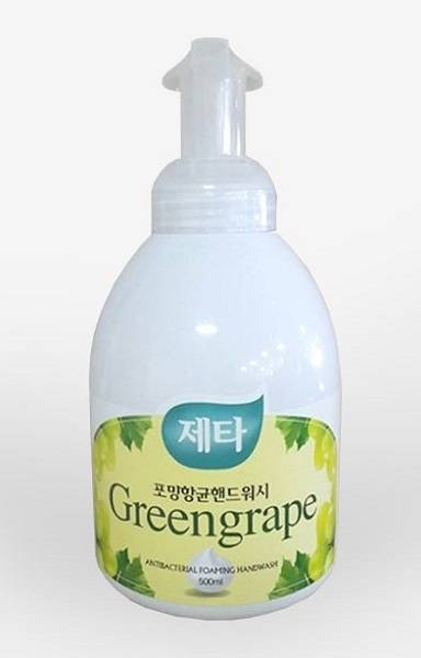 Zetta Foaming Hand Wash(Greengrape)