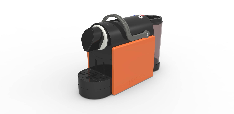 Nespresso Capsule Coffee Maker with Compact Design