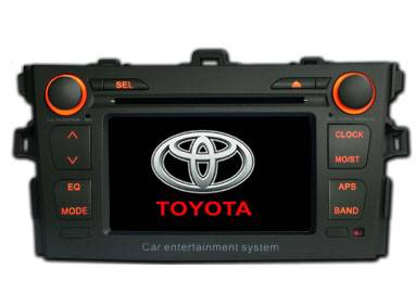 7 touch screen Car DVD player Toyota collora 2008 HD5008