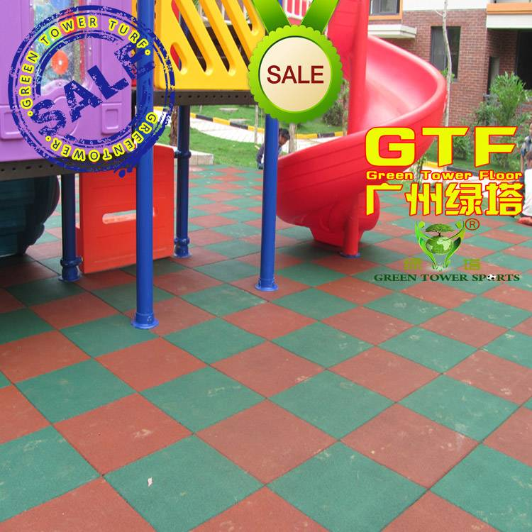 Kids Playground EPDM Rubber Safety Mat