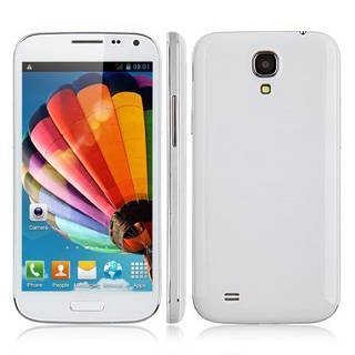 S4 I9500W New Cell phones 5.0 inch QuadCore Android4.2 MT6582 1.2GHz 1GB RAM 4GB ROM IPS 960540 12M