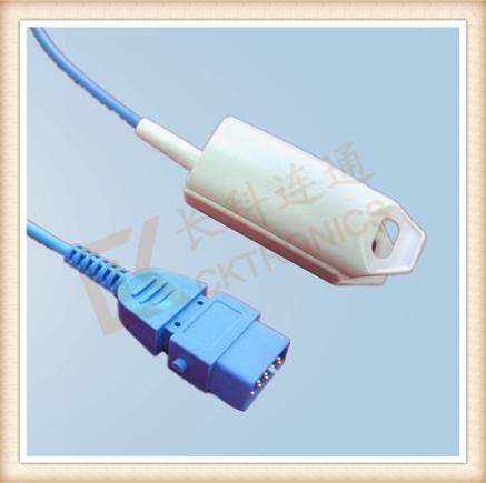 BCI DB9 Pin Adult Finger Clip SpO2 Sensor