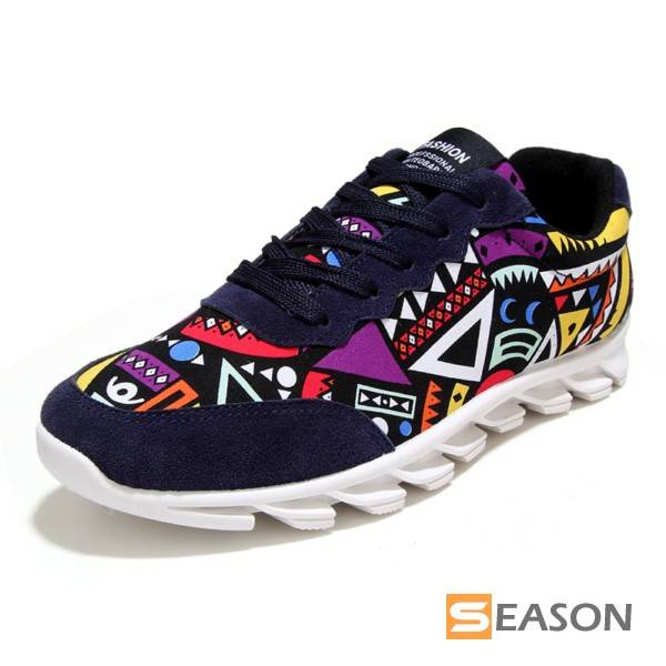 men ethnic totem sport shoes