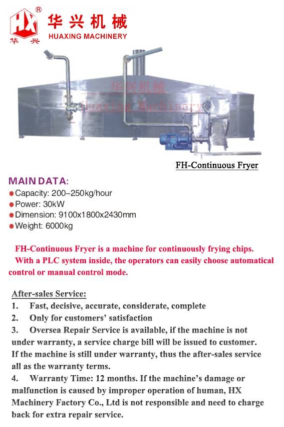 FH-Continuous Fryer