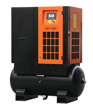 Tank Mounted Air Compressor with Tank