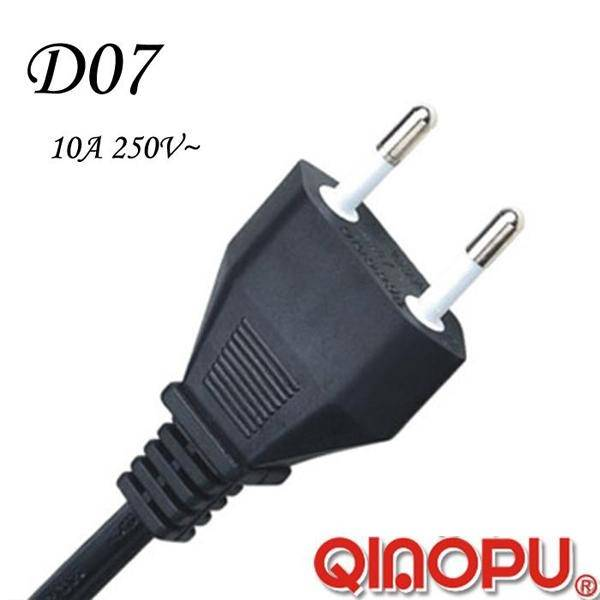 Italy Standards Imq Two Wire Power Cord (D07)