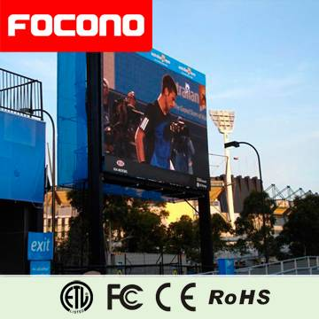 focono led display with 8 year warranty