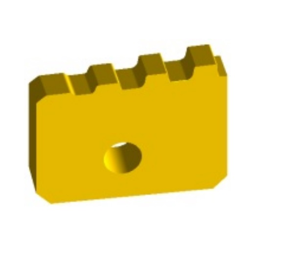 Oil pipe threading inserts