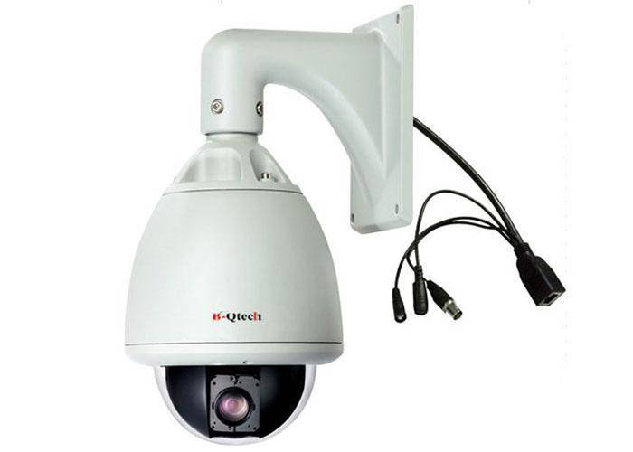 Intelligent 2.0MP CCTV 18x Zoom High Speed Dome Camera PTZ outdoor use