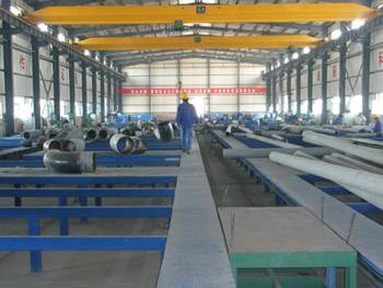 Double-purpose Piping Prefabrication Production Line